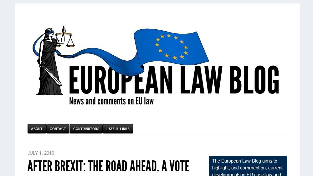 European Law Blog