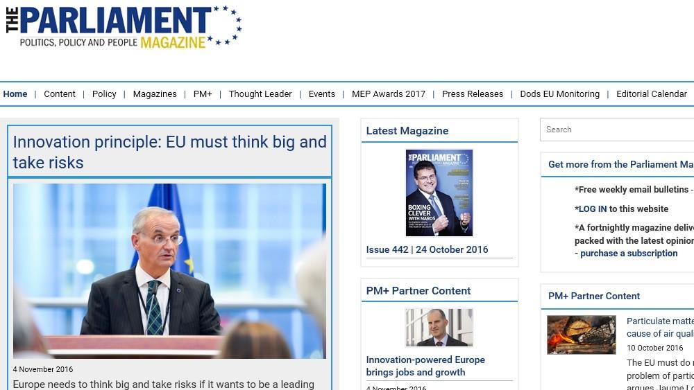 The Parliament Magazine