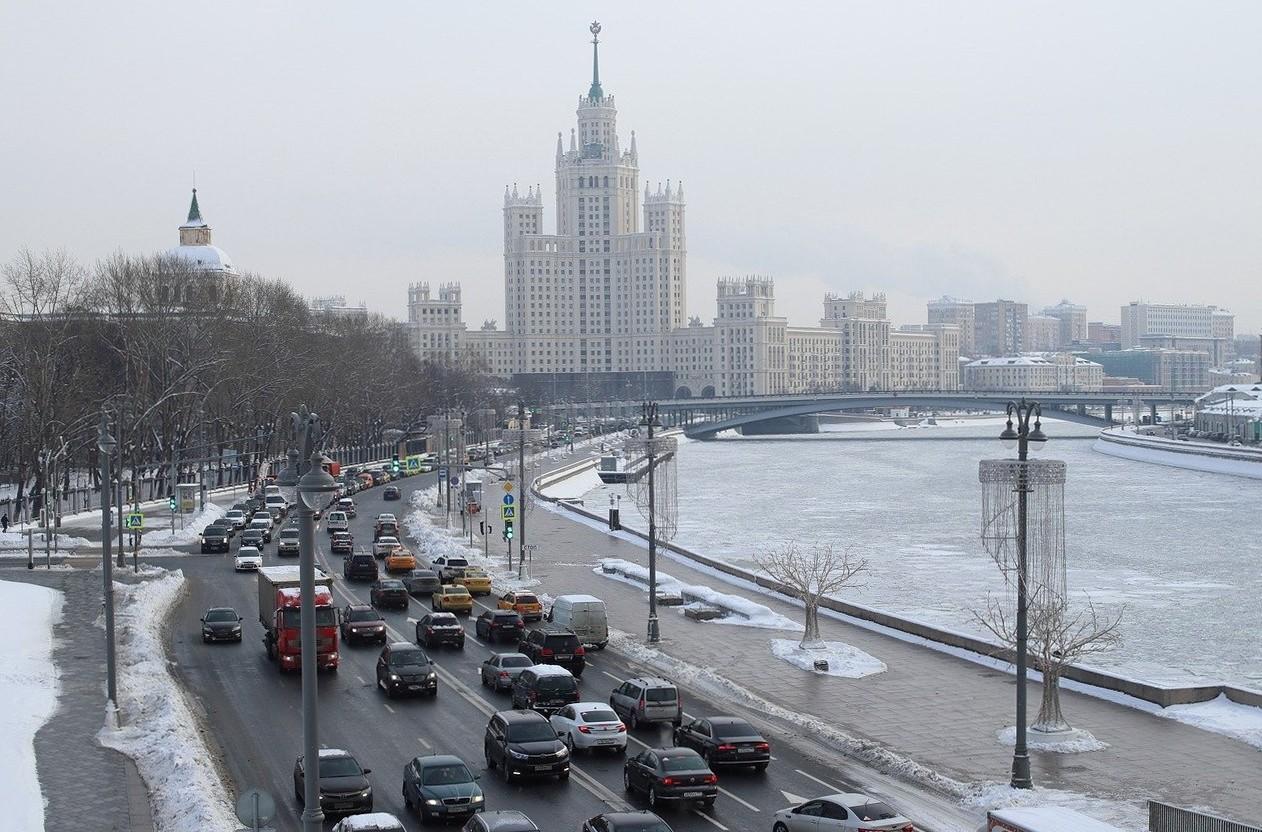 Vinter i Moskva, del 3
