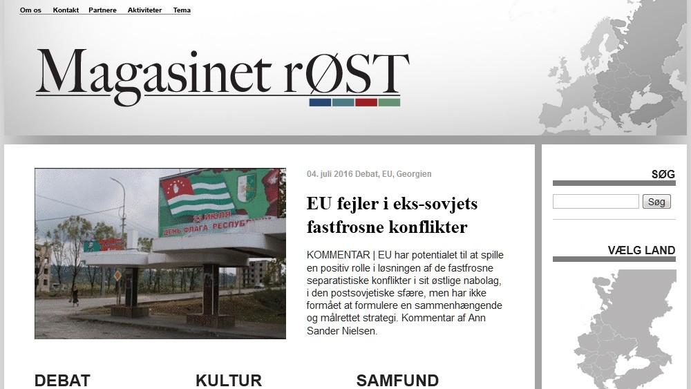 Magasinet rØST - internetmagasin om Østeuropa